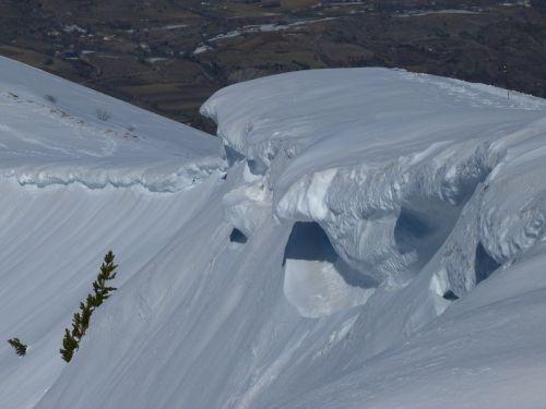 sniego karnizai,sniegas,balta,žiema,šaltas,kalnas,aukštis,vėjas,Alpės,gamta,trapi