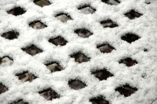 Snow Covered Grid