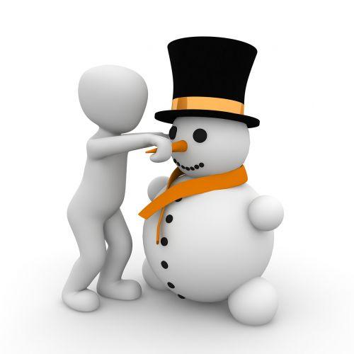 snow man build friendly