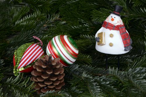 snow man christmas christmas balls