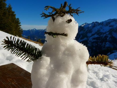 snow man mountain spirit spirit