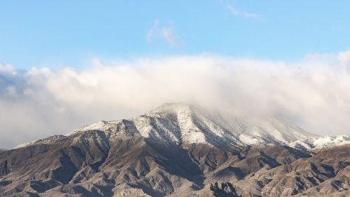 snow mountain rocky mountains snow