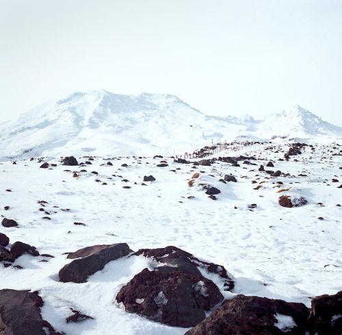 snow mountain mountain top snow