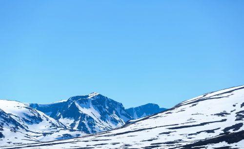 snow mountain views mountain