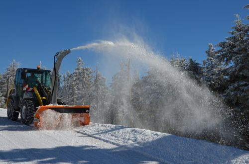 snow plough snow winter service