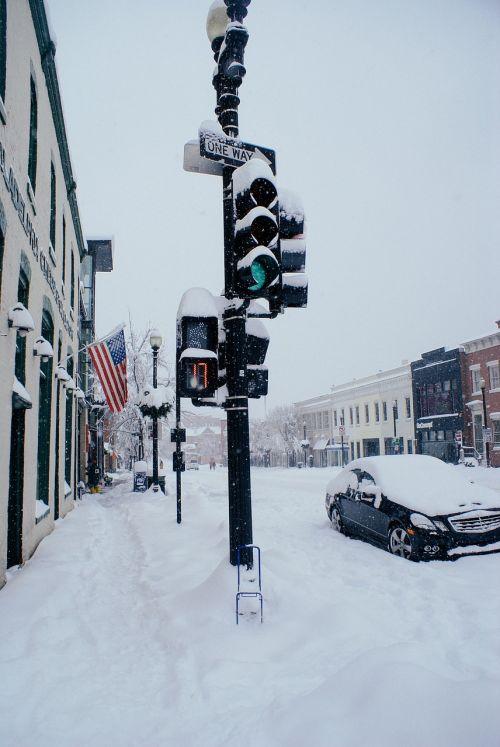 snow storm blizzard winter