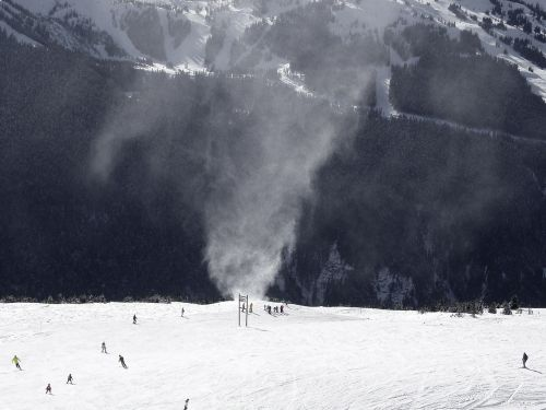 snow twister whistler winter