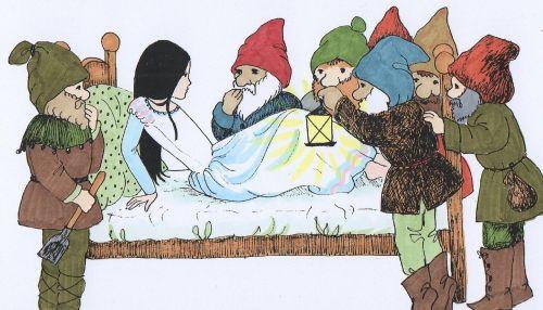 snow white fairy tales awakening