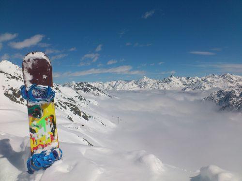 snowboard winter winter sports