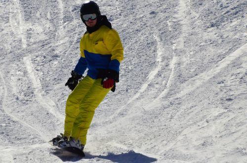 winter sports snowboard mountain