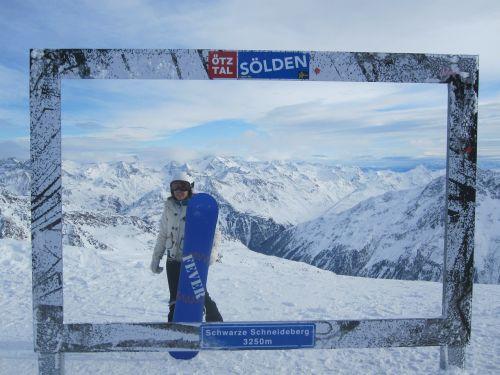 snowboard winter sports mountain