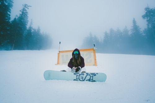 snowboard snow winter