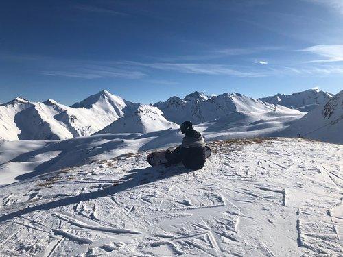 snowboard  snowboad driver  ischgl