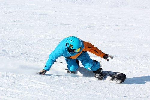 snowboard  frontside  stubai