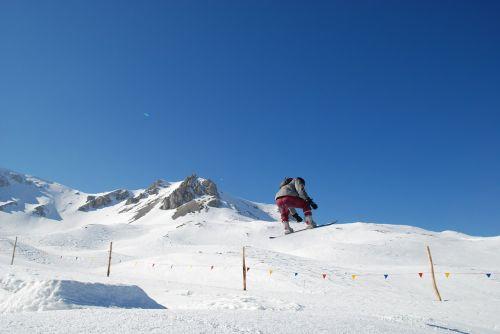 snowboard snow mountain