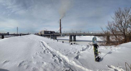 snowboard city winter