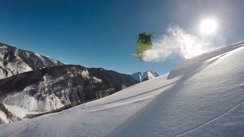 snowboarder snowboarding colorado