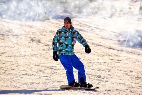Snowboarder, Snowboarding