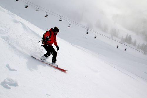 snowboarding winter snow