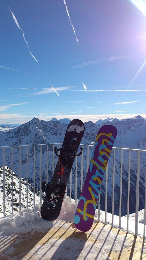 snowboards snowboard snow