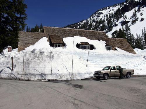 snowbound snowed in winter