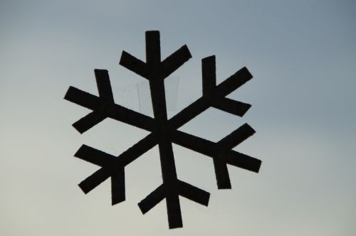 snowflake deco decoration