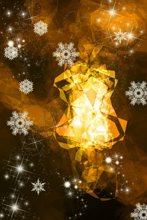 Snowflakes And Light