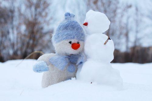 sniego senis,sniegas,du,žiema,draugai,Naujųjų metų vakaras,šventė,Kalėdos,balta,žaislas,šaltis,pasveikinimas,gamta,sniego dramos,dovanos,meilė,broliai,atvirukas,svajones,Draugystė,džiaugsmas,idėja,atostogos