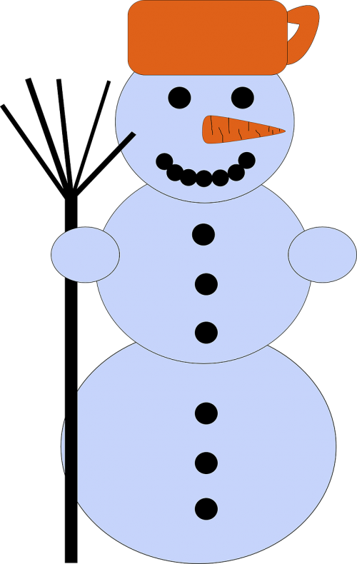 snowman winter cold