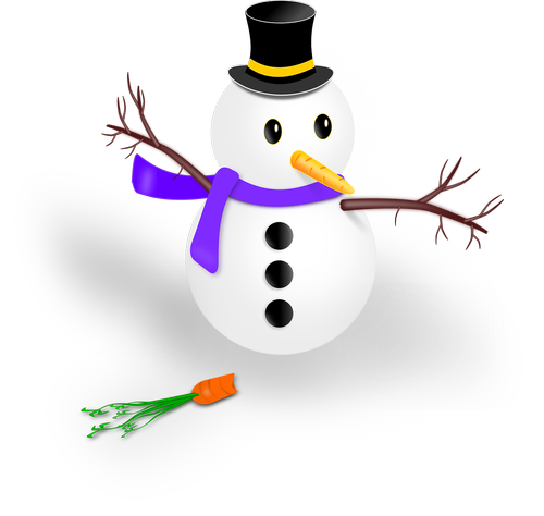 snowman  drawing  transparent background