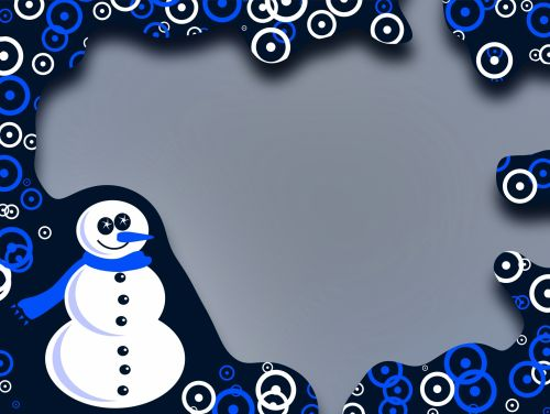 Snowman Border