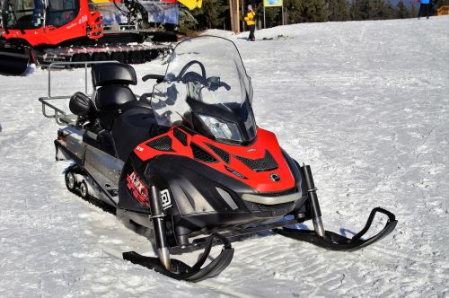 snowmobile ski skiing area