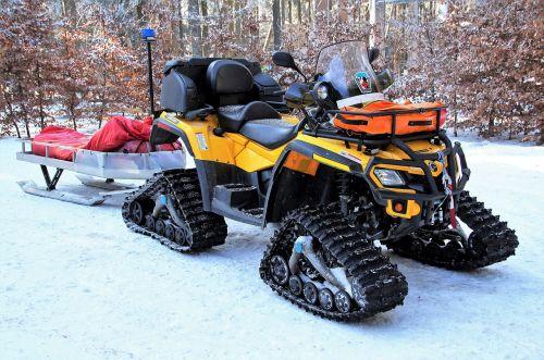 snowmobile mountain rescue service rescue