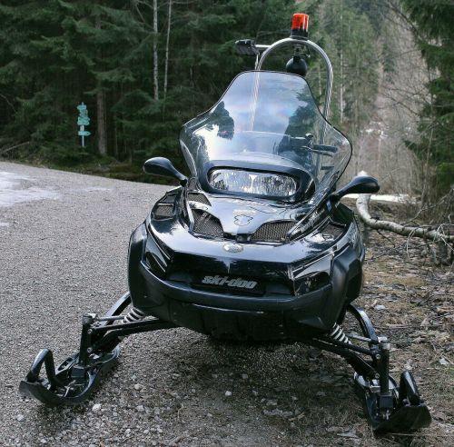 snowmobile vehicle winter