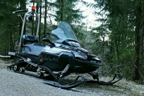snowmobile vehicle winter