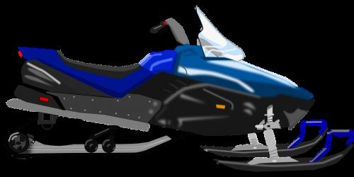 snowmobile snow vehicle
