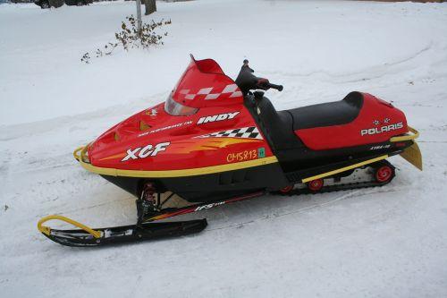 snowmobile winter snow