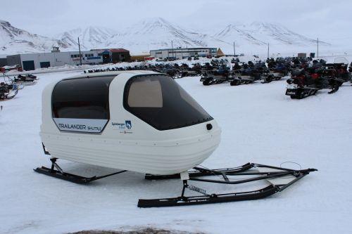 snowmobile trailer norway
