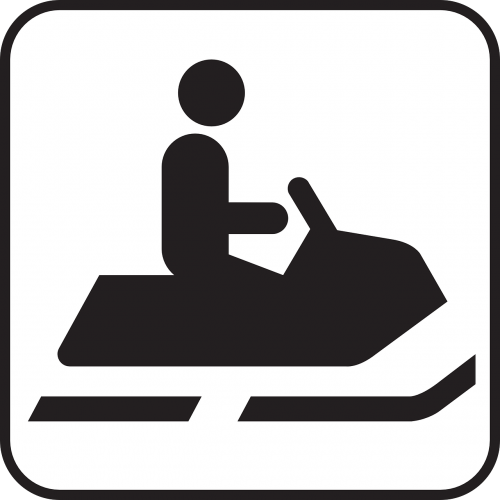 snowmobile snow motor