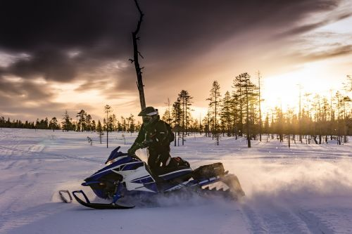 snowmobiles lapland snowmobile
