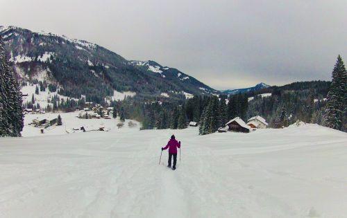 snowshoe snowshoeing snow