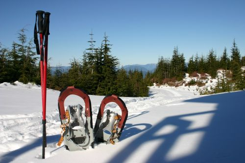 snowshoes snowshoeing winter sports