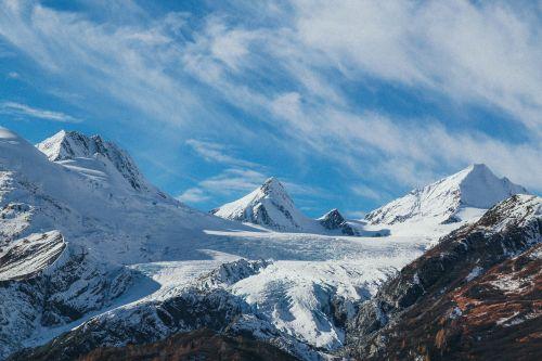 snowy mountains mountains landscape