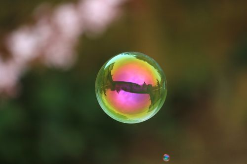 soap bubble ball float