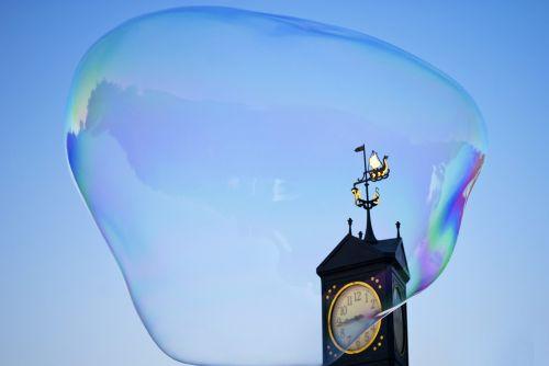 soap bubble huge soap bubble large bubble