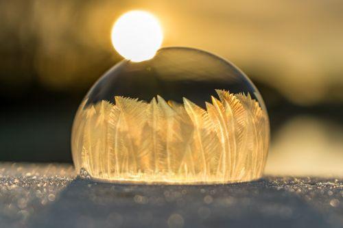 soap bubble soapbubble ice
