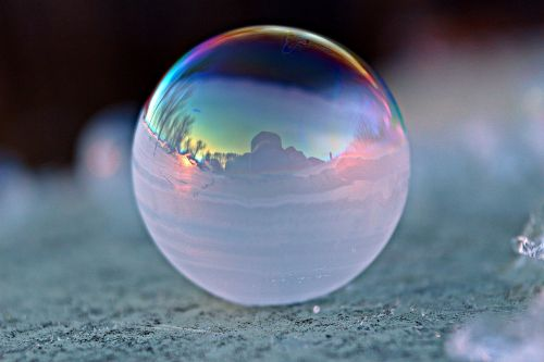 soap bubble ball frost globe