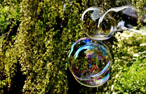 soap bubble huge large