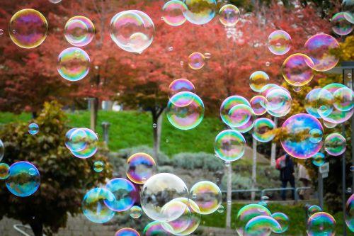 soap bubbles blow balls