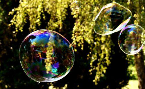 soap bubbles huge large